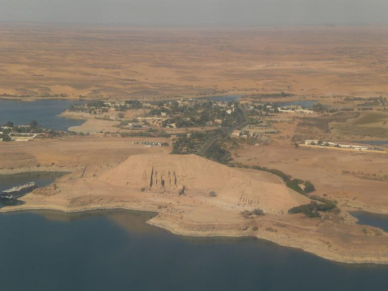 Before landing - Aswan