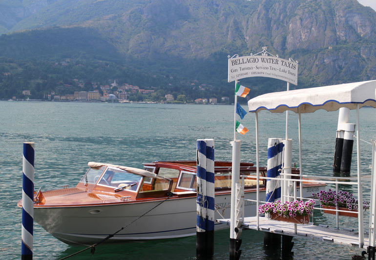 Bellagio Water Taxi - Lake Como - Milan