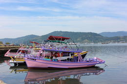 Lots of boats docked in Paraty - definitely worthwhile renting one for the day!, Bandit - July 2014