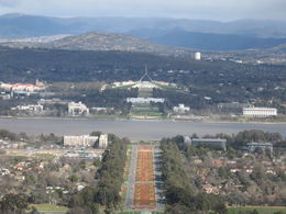 Canberra from the view point , Olga N - July 2016