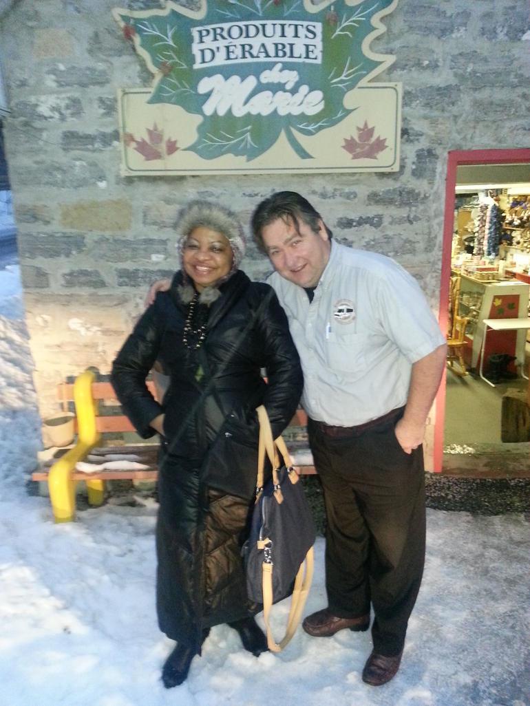 Chez Marie avec Gaby - Quebec City
