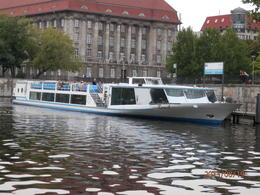 This is an example of a cruise boat. , Susan R - August 2013