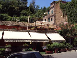 The outside of the restaurant that served us 3 types of pasta and 2 types of wine. , LESLIE W - June 2012