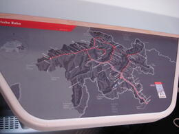 the map on the train , Rhiannon B - September 2011