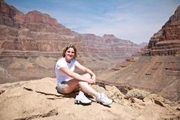 Eu no Grand Canyon!!! , Juliana S - June 2013