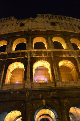 Illuminated Rome Night Tour - August 2012