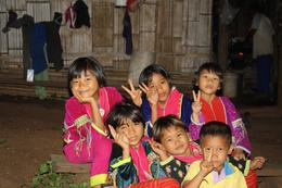 Kids from Palong Village - September 2013