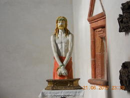 The statue in the chapel next to the convent where and quot;The Last Supper and quot;is , Cheng Cheong N - July 2012