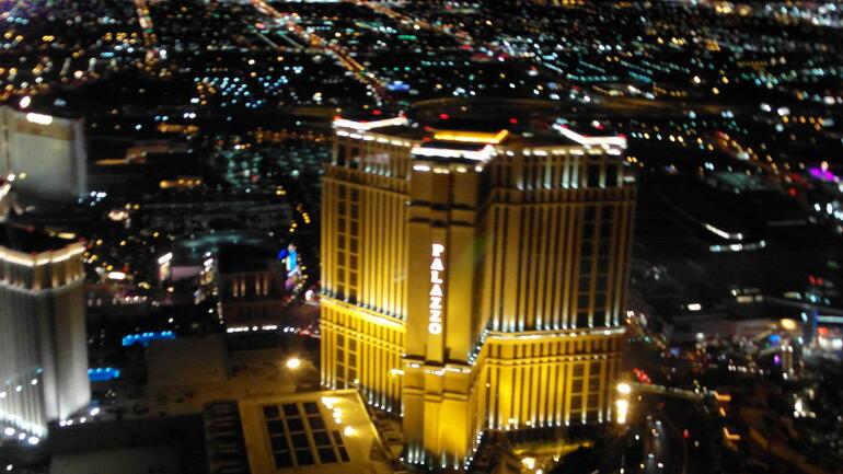 Las Vegas from the sky - Las Vegas