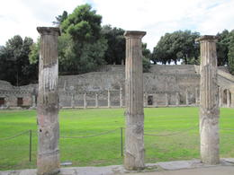 Marble Columns in Pompeii , Willem Hoffmann - November 2013