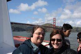 On the boat, San Francisco Bay cruise - April 2010