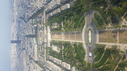 Amazing view from the Eiffel Tower summit! , sally.cruickshanks - July 2016