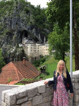 Debbie at Predjama Castle! , Deborah V - June 2016