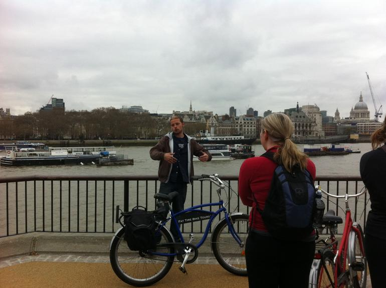 River Thames Bike Tour - London