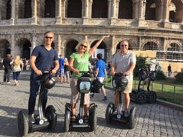 Having a great time touring Rome on Segway! , Mary N - October 2015