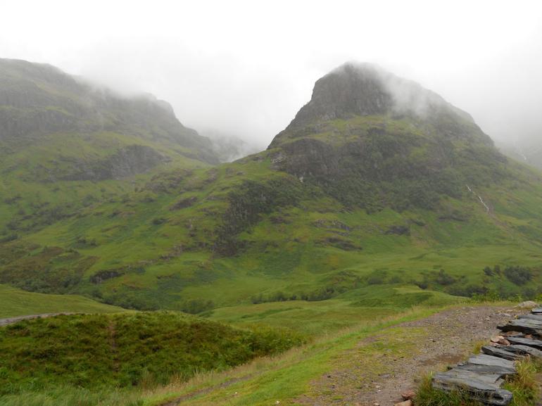 Shrouded in Scotch mist - Glasgow