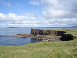 The wonderful nature in Staffa. - August 2010