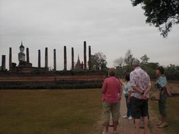 The ruins of Sukhothai from a distance - March 2013