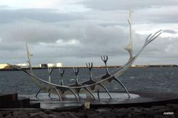 Minne om Ingolfr Arnason, første bosetter på Island. , Jostein S - January 2014