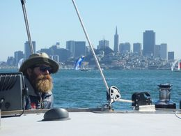 With San Fran in the rear view mirror, the captain venture on towards the ends of the Earth. , Stephen L - September 2015