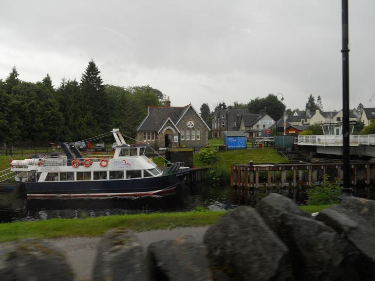 A canal at Loch Ness - Glasgow