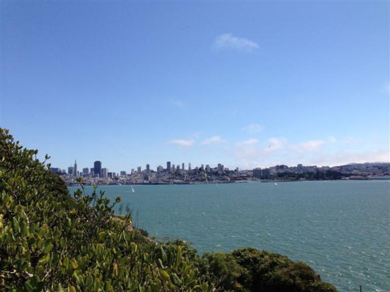 Alcatraz - what a view - San Francisco