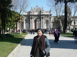 Side entrance to the palace. Very elaborate architectural design. , Rick and Ildy Vinas - May 2011