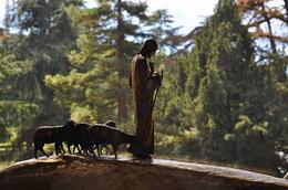 Wunderbar aufgestelle Figurengruppe in den Vatikanischen Museen , Oliver K - July 2014