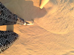 Desert sand is very fine! , Charlene L - January 2014