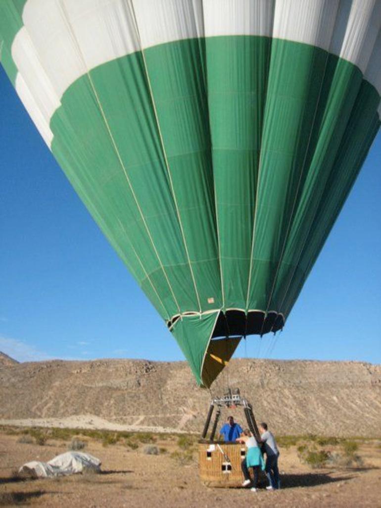 First Balloon Ride - Las Vegas