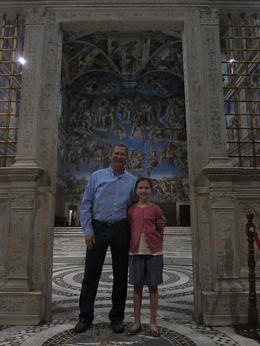 Door to the Sistine Chapel - we got to be there on our own for 30 mintutes, Rick W - June 2012