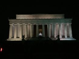 This is a picture I got at the Lincoln Memorial. , sdrummer1985 - August 2015