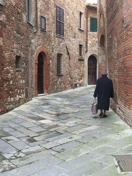 Nonna is heading home in Montepulciano. , lani85715 - April 2016