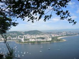 View of the city of Rio de Janeiro taken from on top of Sugar Loaf. , jcb - January 2014