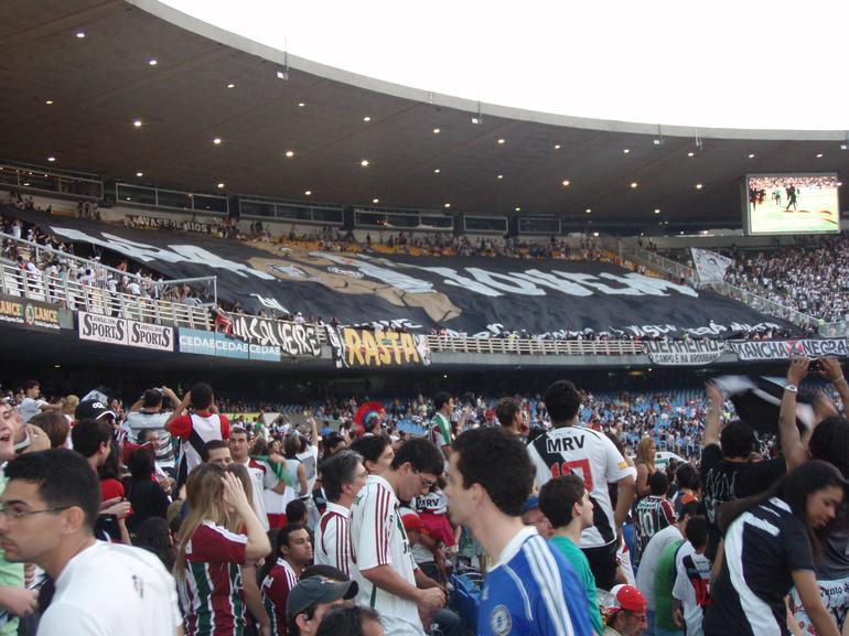 Soccer match at the Maracana Stadium, Rio - Rio de Janeiro