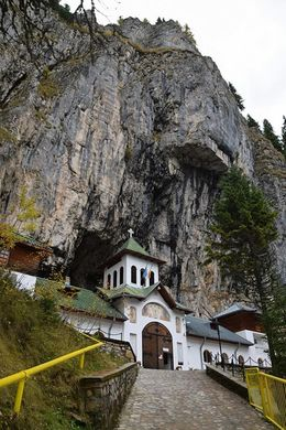 Entrance to the Monastery and Bear Cave , Winter F - December 2015
