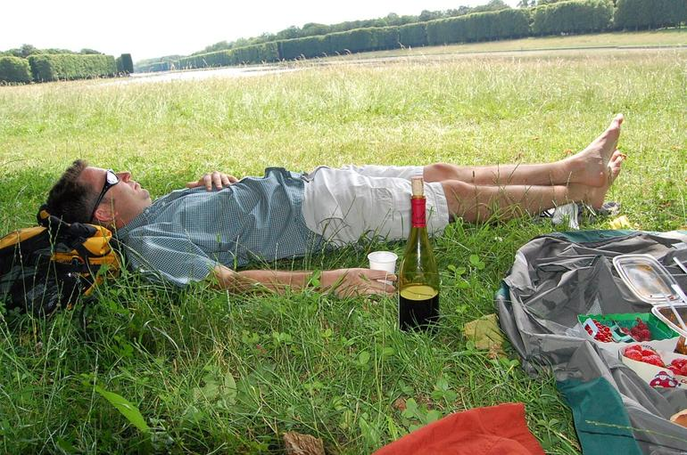 Post-picnic Relaxing - Versailles