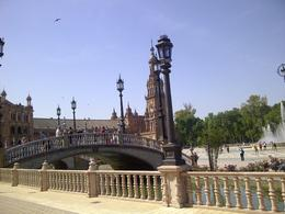 For 200 years, Seville had a monopoly on trade with the new world, being the only in-land port, on a navigable river to the ocean. Here there are decorative tiles representing each of the..., ERK - May 2014