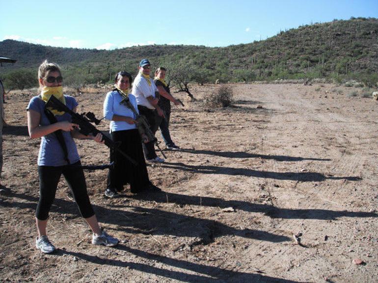 Shooting in the desert - Phoenix