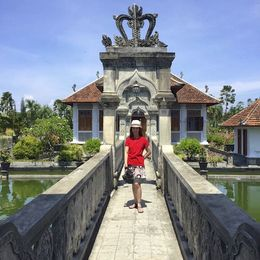 combination of Balinese and European architecture , Maritess B - April 2015