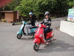 Vespa tour, Blanca - June 2014