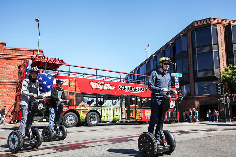 San Francisco Wharf and Waterfront Segway Tour - Our Most Popular Tour Route photo 9