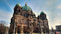 Berlin Cathedral , Mari - April 2017
