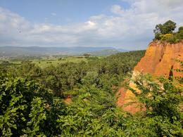 The ocher outcroppings around Roussillon , Lynne A - June 2017
