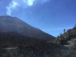 This is the closest you get to Pacaya. Lava Store on the right. , gdimanzo - February 2018
