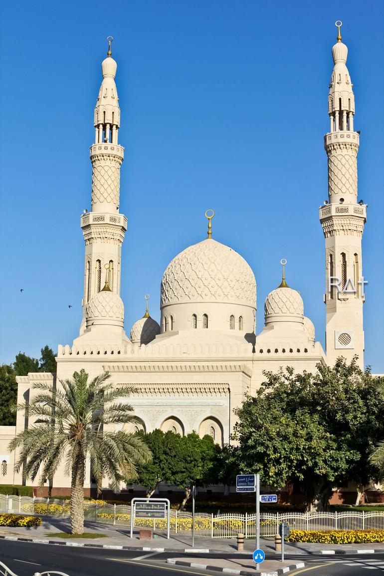 A mosque by the road side - Dubai