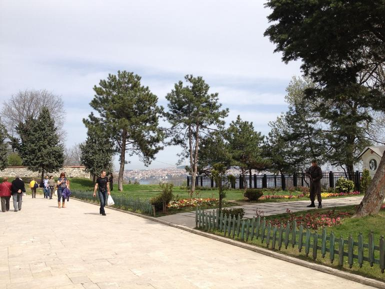 Beautiful view at Topkapi Palace - Istanbul