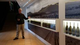 John, our tour guide, explaining to us the history of Chandon , josdp - July 2014