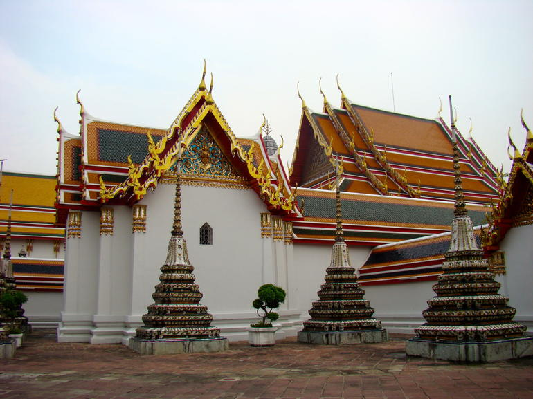 Golden Buddha Temple Grounds - Bangkok