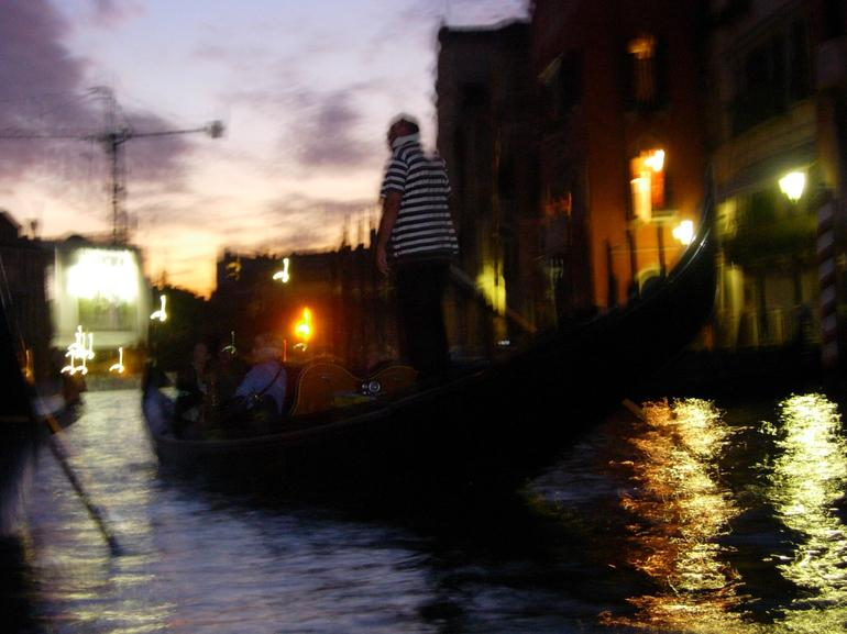 Gondola on Grand Canal - Venice